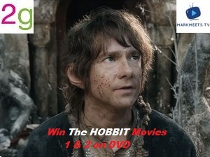 WIN THE HOBBIT 1&2 DVD
