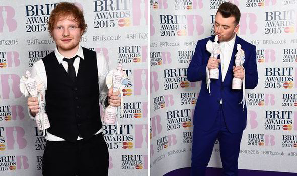 Sam Smith Ed Sheeran
