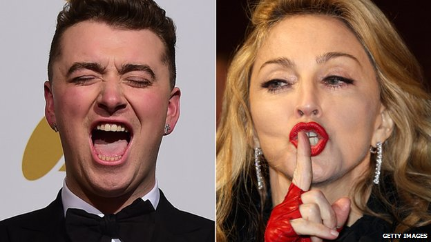 Sam Smith denies Madonna her 12th number one album